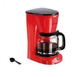 DOMOCLIP DOD126R Cafetiere filtre - Rouge