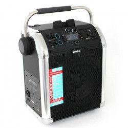 GEMINI MPA 3000 Enceinte mobile / Station d`accueil - Bluetooth - Radio FM - Écran multifonctions