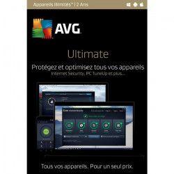 AVG Ultimate (Appareils illimités - 2 Ans)