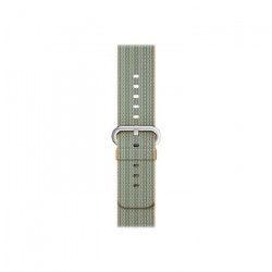Apple Bracelet de montre connectée Woven Nylon Band pour iWatch - 42 mm - Or / Bleu Royal
