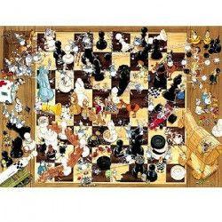 MERCIER Puzzle 1000 pieces Black Or White - 50 x 70 cm