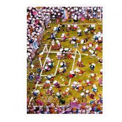 MERCIER Puzzle 1000 pieces Crazy Football - 50 x 70 cm