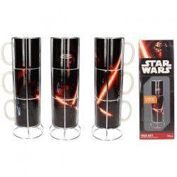 STAR WARS Mugs 3 pcs Kylo Lightsaber
