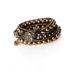 PANDURO Kit Perles Bronze twirl