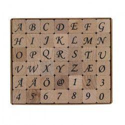 PANDURO Tampons collants - Lettre-Numéro - 42 pieces