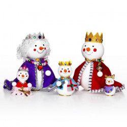 PANDURO Kit famille royale - Hauteur 13,5 cm - Tout pour en créer 5pc