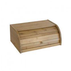 FRANDIS Boîte a pain - Bambou - 38,8 x 28,7 x 18,2 cm - Naturel