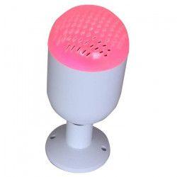 IBIZA LIGHT LED-SOUND Lampe a LED RGB avec haut-parleur bluetooth