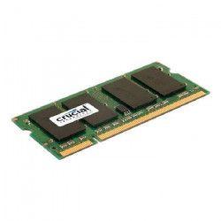 CRUCIAL Mémoire PC - DDR2 - 4GB - 800 - SODIMM