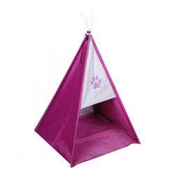 Tente tipi Dogi 37x37x52 cm - Rose - Pour chien