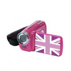 AKOR Caméra Numérique 3 Décors Rose - 5 Mp - Zoom Digital 4X Pour Enfant