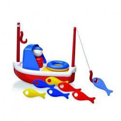 AMBITOYS Mon bateau de peche - 24 mois - Multicolore - Plastique - 20 x 13 x 18 cm