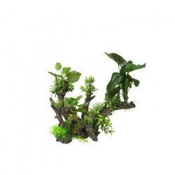AQUA DELLA Décoration florale pour aquarium 33,5 x 16 x 27,5cm - XL