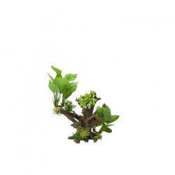 AQUA DELLA Décoration florale pour aquarium - 20,5 x 19 x 23cm - M