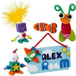 ALEX Kit complet de l`Art du bois Toys Craftartistique - Utile