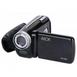 AKOR Caméra Numérique 3 Décors Noire - 5 Mp - Zoom Digital 4X Pour Enfant