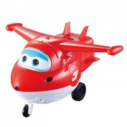 SUPER WINGS Avion intéractif 15cm Jett