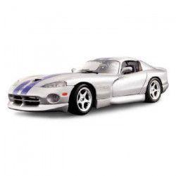BBURAGO Voiture de collection en métal Dodge Viper GTS Coupé a l`échelle 1/18eme