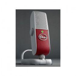 BLUE MICROPHONES Microphone USB RASPBERRY - 24-bit/48kHz - 20 Hz ? 20 kHz - Framboise - PC / MAC