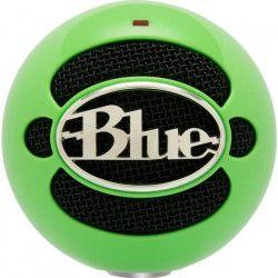 BLUE MICROPHONES Microphone USB a condensateur SNOWBALL NEON - 44.1 kHz/16 bit - Vert - PC / MAC