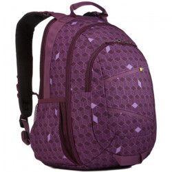 CASE LOGIC Sac a dos pour ordinateur portable - 15,6` - Purple Cubes