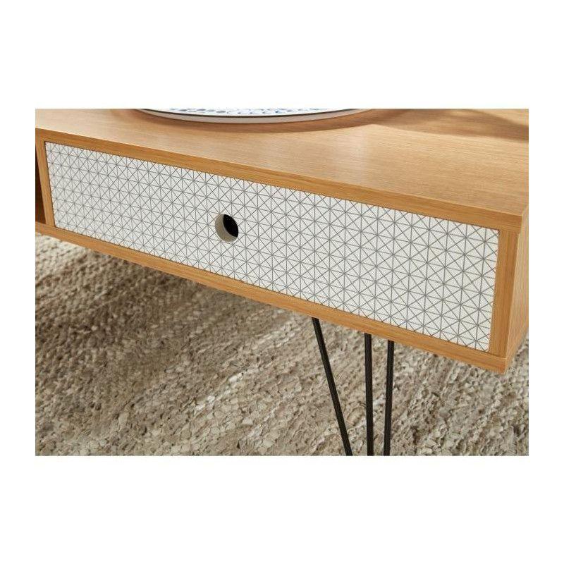 Colette Et Basse Scandinave Table Chene Décor Nv8nwm0