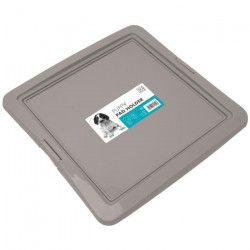 M-PETS Support Puppy Pad Holder - 62x62x4cm - Gris - Pour chiot