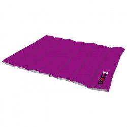 Coussin boudin molletonné Dogi 90x70 cm - Violet - Pour chien