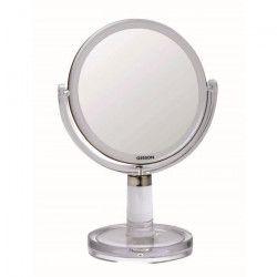 GERSON Miroir sur pied grossissant - Transparent - Ø 15,3 cm - H30 cm
