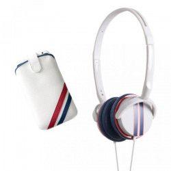 BBC PACKCAPSRACB Pack musique Capsule Racing - Blanc, bleu et rouge
