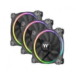 Thermaltake 3 Ventilateurs de boîtier Riing 12 RGB x3 TT Premium Edition - LED RGB - 120mm