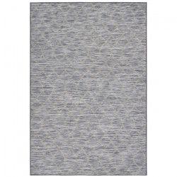 FLORENCE Tapis de salon 160X230 cm Charbon gris