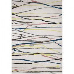 MADRID Tapis style contemporain 160X230 cm Blanc