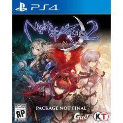 Nights of Azure Jeu PS4
