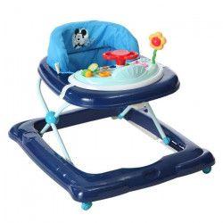 MICKEY Trotteur bébé Player Bleu - Disney Baby