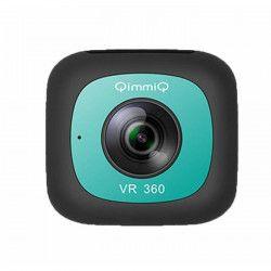 QIMMIQ Caméra 360° Double Lentille VR360 Menthe