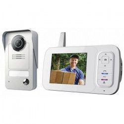 SMARTWARES Visiophone couleur sans fil 3,5` avec combiné portable VD38W