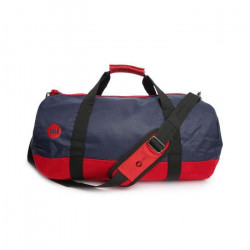 MIPAC Sac toile série duffel Classic Rouge et bleu