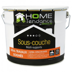 Sous-couche universelle multi-support mat blanc 10L - HOME TENDANCE by Renaulac