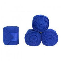 HORZE Lot de 4 bandes de repos acrylique pour chevaux - Bleu
