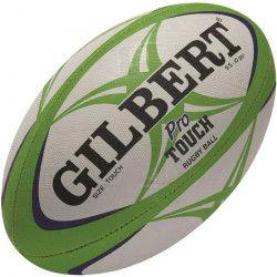 GILBERT Ballon de Touch rugby MATCH PRO - Vert / Bleu