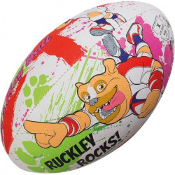 GILBERT Ballon de rugby MASCOTTES - RUCKLEY - Taille 4