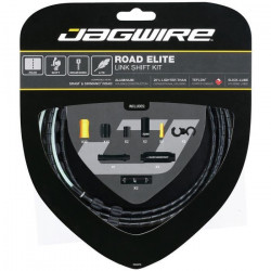 JAGWIRE Kit câble dérailleur Road Elite Link Shift - Avant, arriere, boîtier - ø extérieur 5,0 mm - Noir