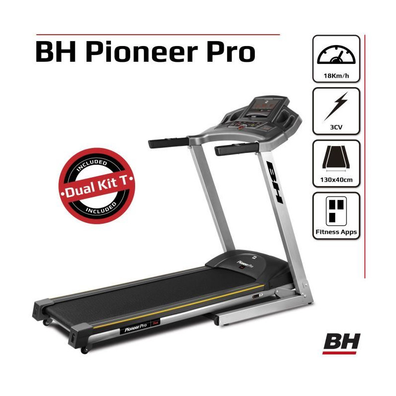 Bh Fitness Tapis De Course Pioneer Pro Dual 18