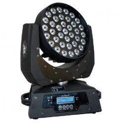 AFX LMH460Z-2 Lyre Washa LED 4 EN 1 - 10W - 15 Canaux Dmx