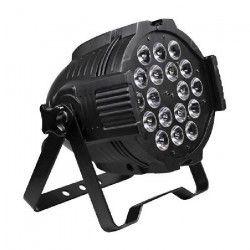 AFX PARLED1820IR Projecteur a LED RGBAw - UV DMX - 6 couleurs en 1