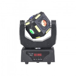 AFX 6CUBE-FX Lyre cubique a LED DMX - 14 / 16 canaux