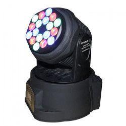 IBIZA LMH350LED Lampe lyre 7 LED multicolore RVBB 10W