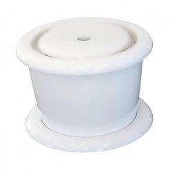 MPETS Fontaine a eau Drinking - Blanc - Pour chien