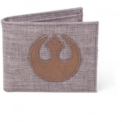 Portefeuille pliable en toile Star Wars: Embleme de l`Alliance Rebelle